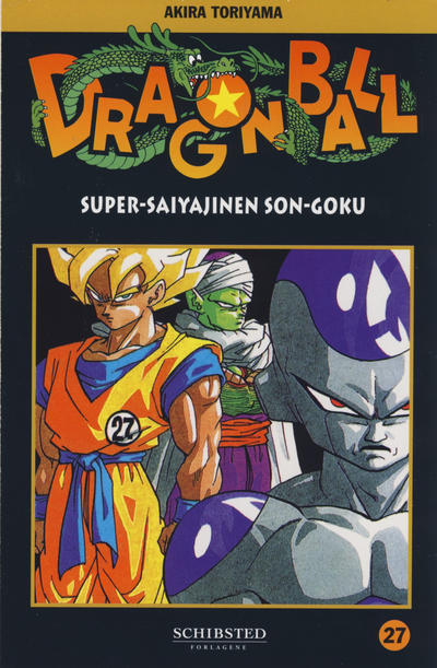 Cover for Dragon Ball (Bladkompaniet / Schibsted, 2004 series) #27 - Super-saiyajinen Son-Goku