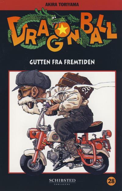 Cover for Dragon Ball (Bladkompaniet / Schibsted, 2004 series) #28 - Gutten fra fremtiden