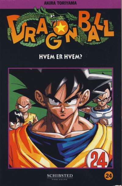 Cover for Dragon Ball (Bladkompaniet / Schibsted, 2004 series) #24 - Hvem er hvem?