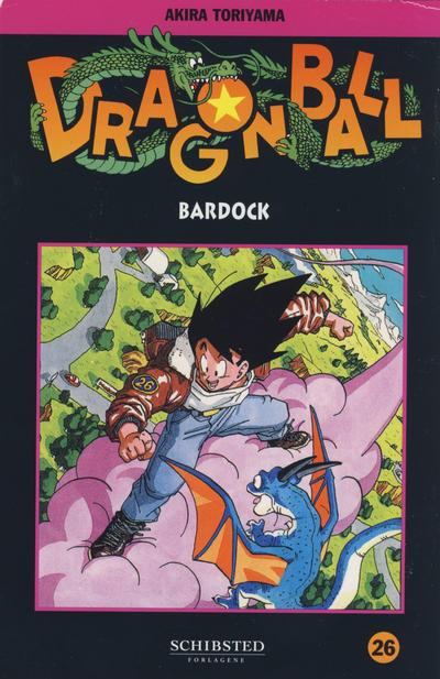 Cover for Dragon Ball (Bladkompaniet / Schibsted, 2004 series) #26 - Bardock