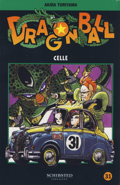 Cover for Dragon Ball (Bladkompaniet / Schibsted, 2004 series) #31 - Celle