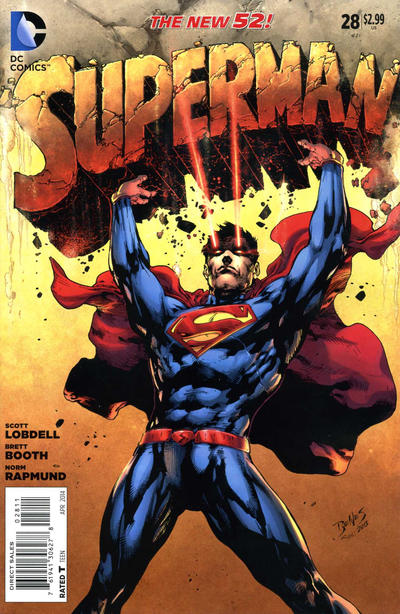 Cover for Superman (DC, 2011 series) #28 [Direct Sales]