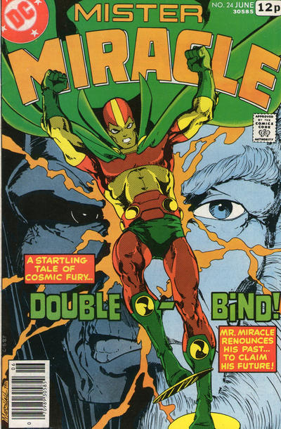 Cover for Mister Miracle (DC, 1971 series) #24