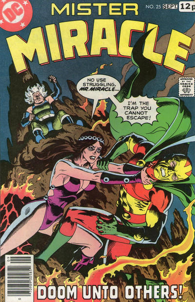 Cover for Mister Miracle (DC, 1971 series) #25