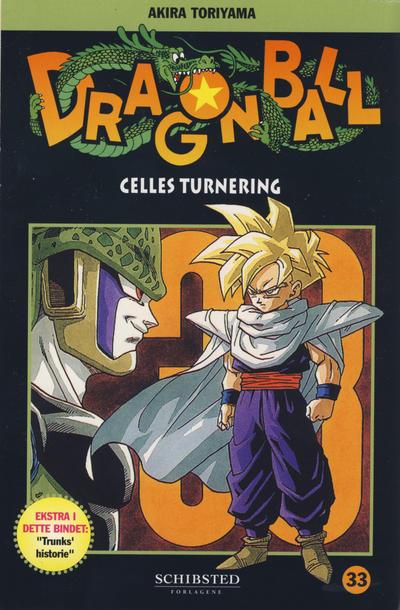 Cover for Dragon Ball (Bladkompaniet / Schibsted, 2004 series) #33 - Celles turnering