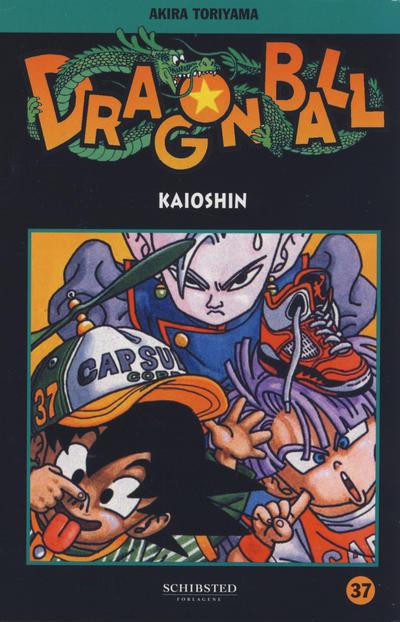 Cover for Dragon Ball (Bladkompaniet / Schibsted, 2004 series) #37 - Kaioshin