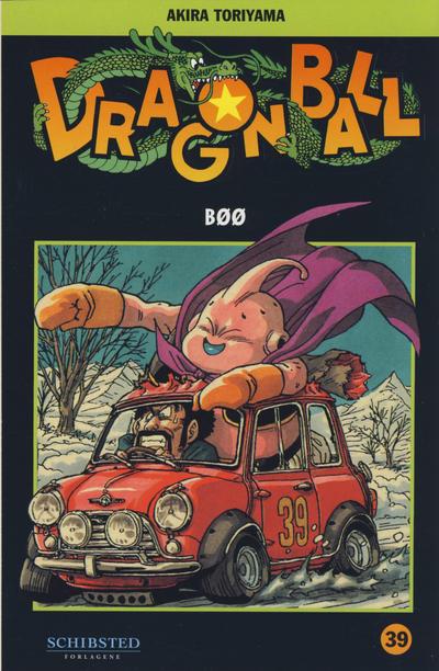 Cover for Dragon Ball (Bladkompaniet / Schibsted, 2004 series) #39 - Bøø