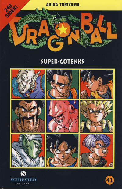 Cover for Dragon Ball (Bladkompaniet / Schibsted, 2004 series) #41 - Super-Gotenks