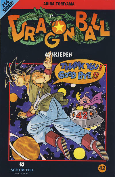 Cover for Dragon Ball (Bladkompaniet / Schibsted, 2004 series) #42 - Avskjeden