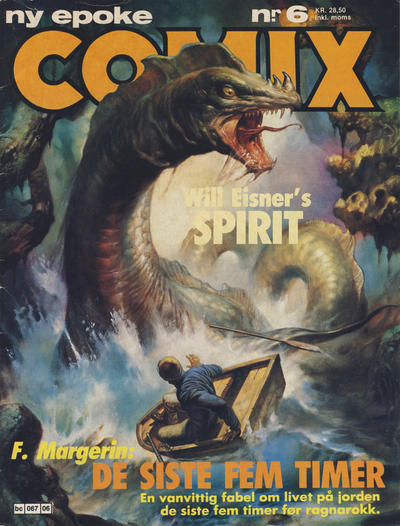 Cover for Comix (Semic, 1983 series) #6