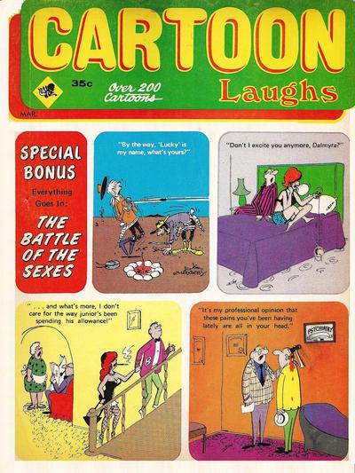 Cover for Cartoon Laughs (Marvel, 1962 series) #v8#2