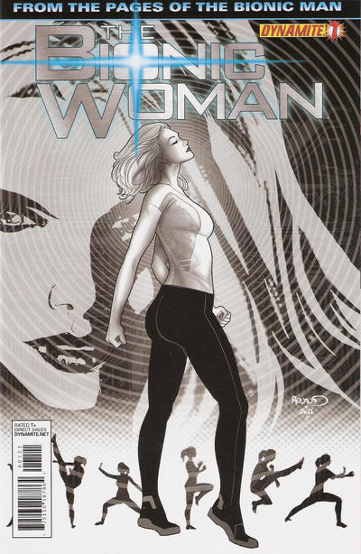 Cover for The Bionic Woman (Dynamite Entertainment, 2012 series) #1