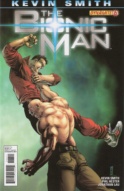 Cover for Bionic Man (Dynamite Entertainment, 2011 series) #6 [Cover A (Main) Alex Ross]