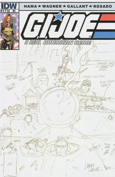 Cover for G.I. Joe: A Real American Hero (IDW, 2010 series) #173 [Retailer Incentive Cover]