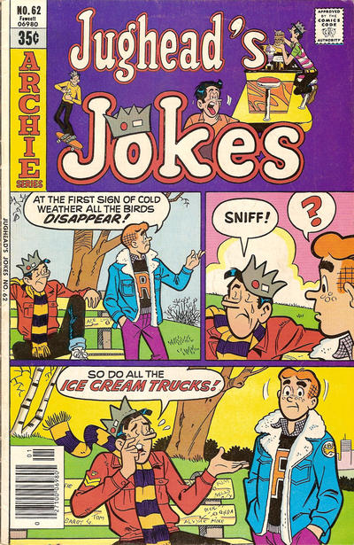 Cover for Jughead's Jokes (Archie, 1967 series) #62