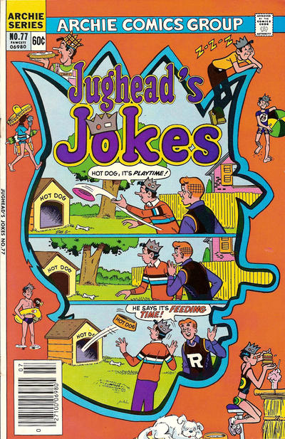Cover for Jughead's Jokes (Archie, 1967 series) #77