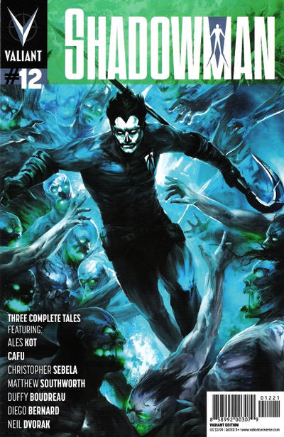 Cover for Shadowman (Valiant Entertainment, 2012 series) #12 [Cover A - Dave Johnson]