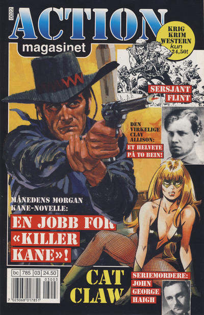 Cover for Action magasinet (Bladkompaniet / Schibsted, 1999 series) #3/2000