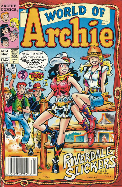 Cover for World of Archie (Archie, 1992 series) #4