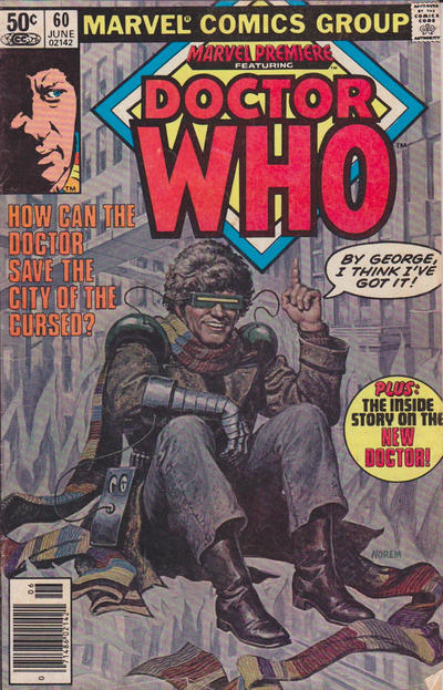 Cover for Marvel Premiere (Marvel, 1972 series) #60 [Newsstand]