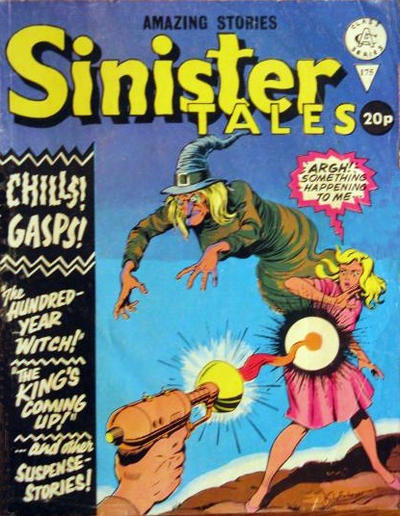 Cover for Sinister Tales (Alan Class, 1964 series) #175
