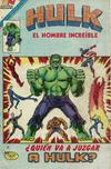 Cover for Hulk el Hombre Increíble (Editorial Novaro, 1979 series) #38