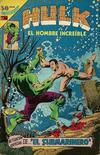 Cover for Hulk el Hombre Increíble (Editorial Novaro, 1979 series) #13