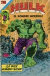 Cover for Hulk el Hombre Increíble (Editorial Novaro, 1979 series) #1