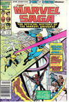 Cover for The Marvel Saga the Official History of the Marvel Universe (Marvel, 1985 series) #8 [Newsstand]