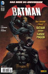 Cover Thumbnail for Batman (Panini Deutschland, 2012 series) #22 (87)