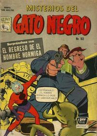 Cover Thumbnail for Misterios del Gato Negro (Editora de Periódicos La Prensa S.C.L., 1953 series) #163