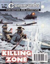 Cover Thumbnail for Commando (D.C. Thomson, 1961 series) #2981