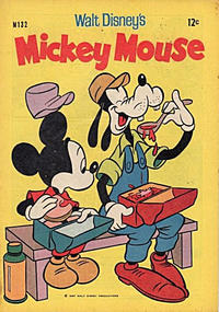 Cover Thumbnail for Walt Disney's Mickey Mouse (W. G. Publications; Wogan Publications, 1956 series) #132