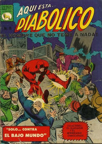 Cover Thumbnail for Diabólico (Editora de Periódicos La Prensa S.C.L., 1966 series) #19