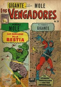Cover Thumbnail for Los Vengadores (Editora de Periódicos La Prensa S.C.L., 1965 series) #20