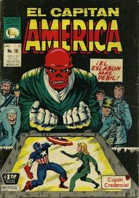 Cover Thumbnail for Capitán América (Editora de Periódicos La Prensa S.C.L., 1968 series) #18