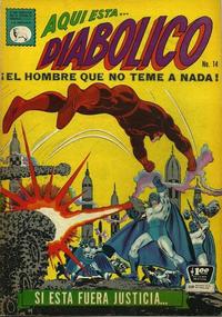 Cover Thumbnail for Diabólico (Editora de Periódicos La Prensa S.C.L., 1966 series) #14