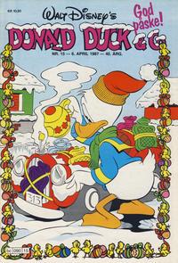 Cover Thumbnail for Donald Duck & Co (Hjemmet / Egmont, 1948 series) #15/1987