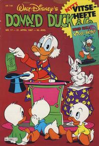 Cover Thumbnail for Donald Duck & Co (Hjemmet / Egmont, 1948 series) #17/1987