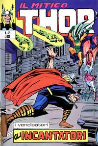 Cover Thumbnail for Il Mitico Thor (Editoriale Corno, 1971 series) #42