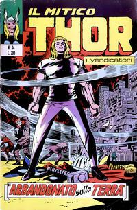 Cover Thumbnail for Il Mitico Thor (Editoriale Corno, 1971 series) #44