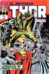 Cover Thumbnail for Il Mitico Thor (Editoriale Corno, 1971 series) #47