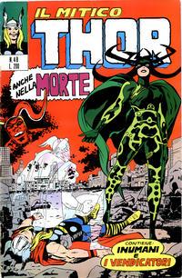 Cover Thumbnail for Il Mitico Thor (Editoriale Corno, 1971 series) #48