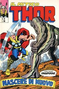 Cover Thumbnail for Il Mitico Thor (Editoriale Corno, 1971 series) #49