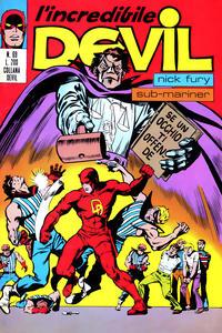 Cover Thumbnail for L'Incredibile Devil (Editoriale Corno, 1970 series) #69