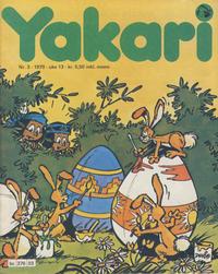 Cover Thumbnail for Yakari (Semic, 1978 series) #3/1979