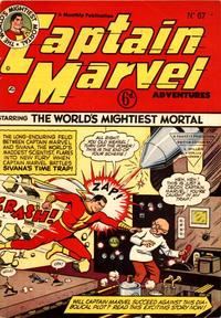 Cover Thumbnail for Captain Marvel Adventures (L. Miller & Son, 1950 series) #67