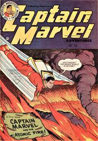 Cover Thumbnail for Captain Marvel Adventures (L. Miller & Son, 1950 series) #66