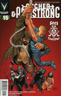 Cover Thumbnail for Archer and Armstrong (Valiant Entertainment, 2012 series) #15 [Cover A - Clayton Henry]
