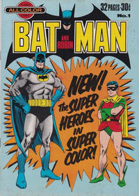 Cover Thumbnail for Batman and Robin (K. G. Murray, 1976 series) #1